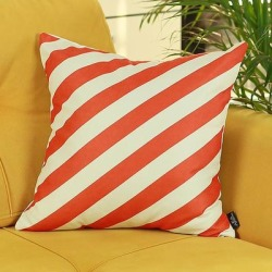 Porch & Den Tigon Striped Throw Pillow Cover (Removable Cover - Pillow Covers - Zipper Closure), Multicolor(Polyester) found on Bargain Bro from Overstock for USD $14.36