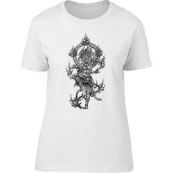 Cool Grunge God Titan Of Japan Tee Men's -Image by Shutterstock (M), White found on Bargain Bro from Overstock for USD $10.63