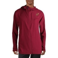 Asics Mens Athletic Jacket Fitness Workout (Red - 2XL), Men's(polyester) found on MODAPINS from Overstock for USD $29.89