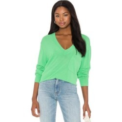 Marrim V Neck Sweater - Green - Equipment Knitwear found on Bargain Bro India from lyst.com for $250.00