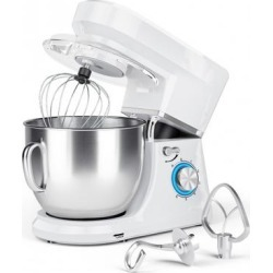 Costway 7.5 Qt Tilt-Head Stand Mixer with Dough Hook-White found on Bargain Bro Philippines from Costway for $119.95