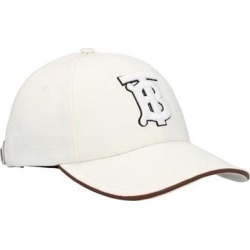 Logo Cap - White - Burberry Hats found on Bargain Bro from lyst.com for USD $418.00