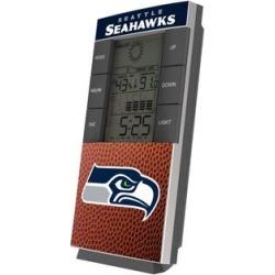 Seattle Seahawks Football Digital Desk Clock found on Bargain Bro India from nflshop.com for $34.99