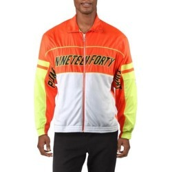 Puma Mens Track Jacket Fitness Training - Red/Yellow/White found on Bargain Bro from Overstock for USD $19.60