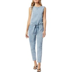 The Marnie Denim Jumpsuit - Blue - Joe's Jumpsuits found on Bargain Bro India from lyst.com for $208.00