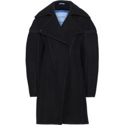 Wool Coat - Black - Mugler Coats found on MODAPINS from lyst.com for USD $744.00