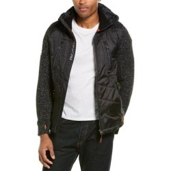 Superdry Storm Hybrid Jacket (S), Men's, Black(polyester) found on Bargain Bro from Overstock for USD $50.15