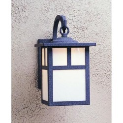 Arroyo Craftsman Mission 12 Inch Tall 1 Light Outdoor Wall Light - MB-7T-TN-VP found on Bargain Bro from Capitol Lighting for USD $211.28