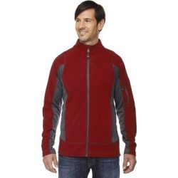 Generate Textured Fleece Men's Classic Red 850 Jacket found on Bargain Bro Philippines from Overstock for $27.99