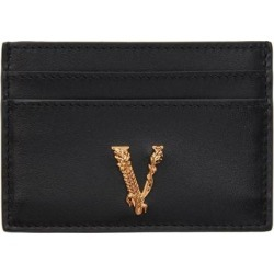 Black Vitrus Card Holder - Black - Versace Wallets found on Bargain Bro from lyst.com for USD $190.00