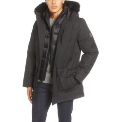 UGG Butte 3-in-1 Down Parka With Genuine Shearling Trim - Black - Ugg Jackets found on Bargain Bro Philippines from lyst.com for $495.00