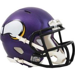 Riddell Minnesota Vikings Revolution Speed Mini Football Helmet found on Bargain Bro from Fanatics for USD $22.79