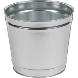 Commercial Zone 794400 12 Qt. Cigarette Receptacle Replacement Metal Pail found on Bargain Bro India from webstaurantstore.com for $15.99