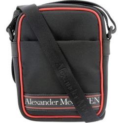 Mini Messenger Bag - Black - Alexander McQueen Messenger found on Bargain Bro from lyst.com for USD $521.36