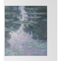 Throw Blanket | Monet Water Lilies Colorful by Purevintagelove - 51