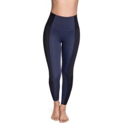 Plus Size Women's Rio Style Active Legging by Squeem in Midnight Blue Black (Size S) found on Bargain Bro Philippines from Roamans.com for $78.99