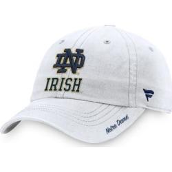Notre Dame Fighting Irish Fanatics Branded Women's Core Fundamental Adjustable Hat – White found on Bargain Bro Philippines from Fanatics for $23.99