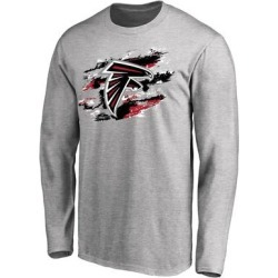 Atlanta Falcons NFL Pro Line True Colors Long Sleeve T-Shirt - Ash found on Bargain Bro from Fanatics for USD $22.79