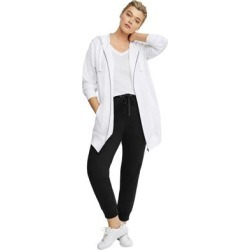 Plus Size Women's French Terry Drawstring Sweatpants by ellos in Black (Size L) found on Bargain Bro Philippines from Ellos for $23.90