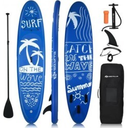 Costway Inflatable & Adjustable Stand Up Paddle Board-M found on Bargain Bro Philippines from Costway for $249.95