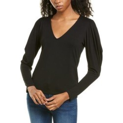 Frame Denim Shirred V-Neck Top (XS), Women's, Multicolor found on MODAPINS from Overstock for USD $54.99