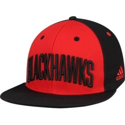 Chicago Blackhawks adidas Sport Large Team Snapback Hat - Red/Black found on Bargain Bro Philippines from Fanatics for $25.00