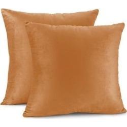 Porch & Den Cosner Microfiber Velvet Throw Pillow Covers (Set of 2) (22