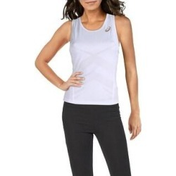 Asics Womens Tank Top Tennis Fitness (White - M), Women's(polyester) found on MODAPINS from Overstock for USD $13.94