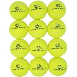 Hyper Pet Tennis Balls Dog Toy, 12 count found on Bargain Bro India from Chewy.com for $17.95