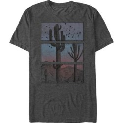 Fifth Sun Men's Tee Shirts CHAR - Charcoal Heather Segment Desert Tee - Men found on Bargain Bro from zulily.com for USD $11.39