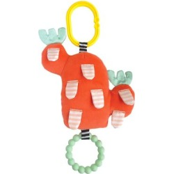 Manhattan Toy Teethers Multicolor - Red & Green Cactus Garden Bloom Teether...