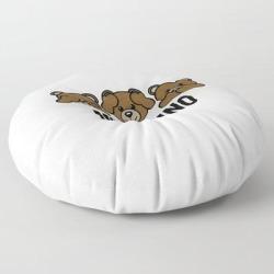 Moschino Floor Pillow by Storeusa - ROUND - 30