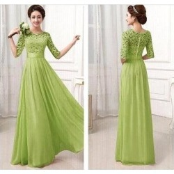 Fashion Trade Openwork Lace Sexy Chiffon Skirt Dress Explosion Models Series Green (L), Women's found on Bargain Bro from Overstock for USD $25.67