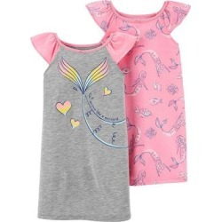 Girls 4-14 Carter's 2-Pack Nightgowns, Girl's, Size: 4-5, Pink found on Bargain Bro from Kohl's for USD $25.84