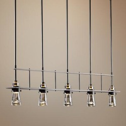 Hubbardton Forge Erlenmeyer Dark Smoke 5-Light Pendant found on Bargain Bro India from LAMPS PLUS for $2442.00