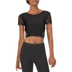 Puma Womens Studio T-Shirt Running Training - Puma Black - XS found on Bargain Bro from Overstock for USD $24.81