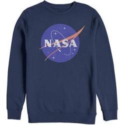 Fifth Sun Men's Pullover Sweaters NAVY - NASA Navy Logo Sweatshirt - Men found on Bargain Bro from zulily.com for USD $21.27