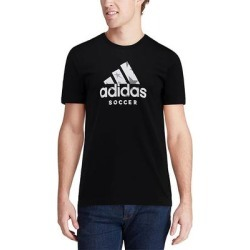 adidas Men's Tee Shirts Black - Soccer Logo Tee - Men found on MODAPINS from zulily.com for USD $14.99