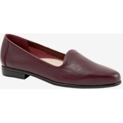 Women's Liz Tumbled Flats by Trotters in Burgundy (Size 8 1/2 M) found on Bargain Bro Philippines from Roamans.com for $99.99