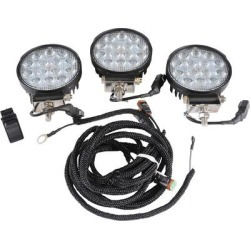 Wacker Neuson LED Work Lights, Model 5100044403 - For Double Drum Roller Model RD12A-90s found on Bargain Bro from northerntool.com for USD $193.79