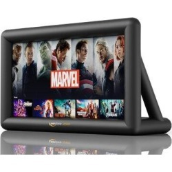 Outdoor 20ft Inflatable Projector Screen Keenstone 20ft Movie Screen w/ Blower & Portable Bag, Size 132.0 H x 96.0 W in | Wayfair 202106242 found on Bargain Bro Philippines from Wayfair for $197.99