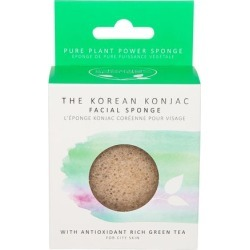 Premium Eco-Friendly Facial Puff with Green Tea found on Makeup Collection from Cult Beauty Ltd. for GBP 10.23