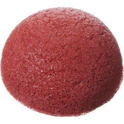 Pure Konjac Puff Sponge with French Red Clay found on Makeup Collection from Cult Beauty Ltd. for GBP 9.7