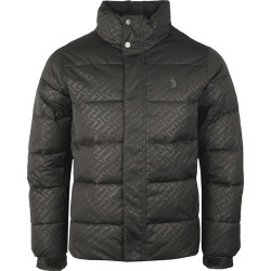 Day Owl Jacquard Overprint Detail Quilted Funnel Jacket found on Bargain Bro UK from Masdings