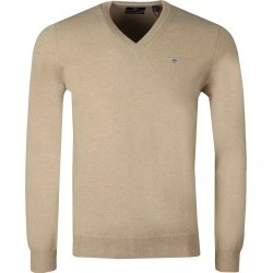 Superfine Lambswool V-Neck Jumper found on Bargain Bro from Masdings for £50