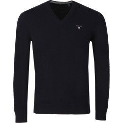 Superfine Lambswool V-Neck Jumper found on Bargain Bro from Masdings for £55