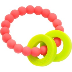 Chewbeads Mulberry Teether, Punchy Pink found on Bargain Bro Philippines from maisonette.com for $16.50