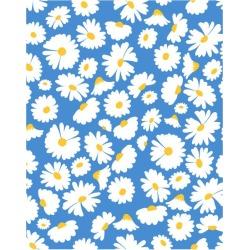 WallShoppe Pop Daisy Traditional Wallpaper, Cerulean found on Bargain Bro Philippines from maisonette.com for $77.40