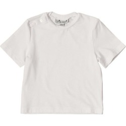 Busy Bees Henry Button Tee, White