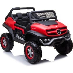 Best Ride On Cars Mercedes Unimog, Red